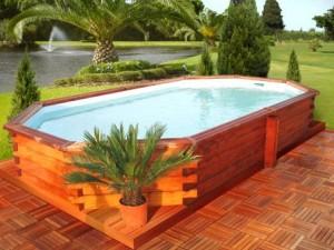 Eco solutions tout ce qui touche l 39 cologie construire une piscine - Photo de piscine en bois ...