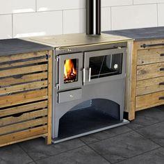 une-cuisiniere-à-bois